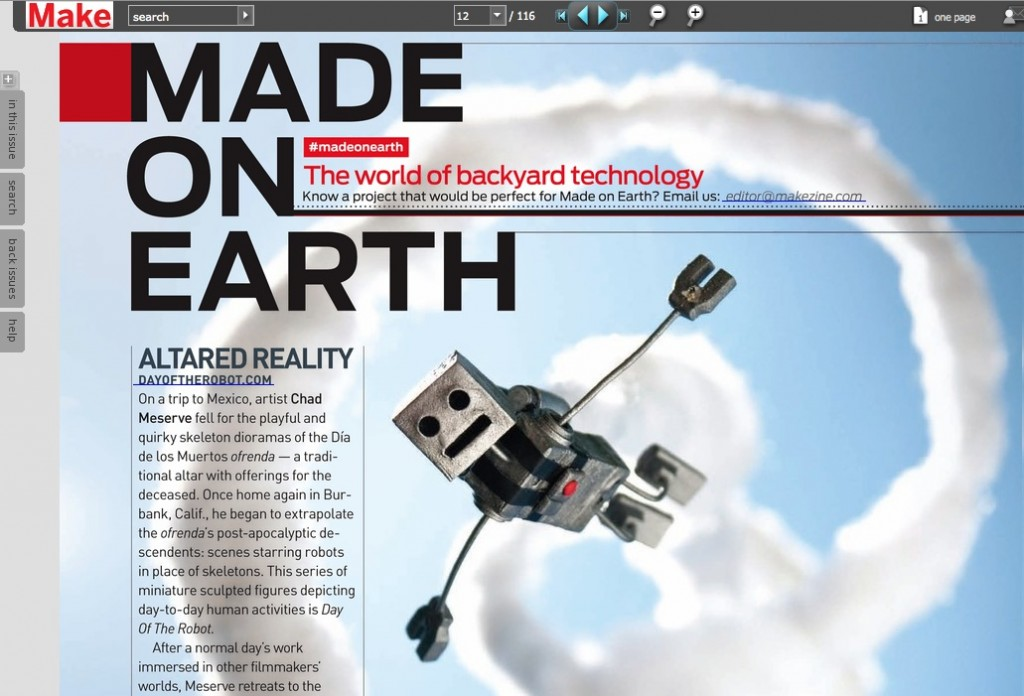 Day of the Robot - Make Magazine Article
